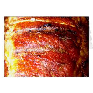 Pork Loin Roast Photo Card