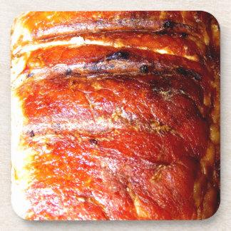 Pork Loin Roast Photo Drink Coaster