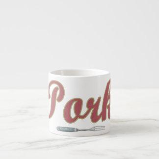 Pork n' Fork Espresso Cup