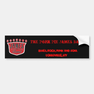 Pork Pie James Bumper Sticker