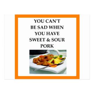 pork postcard