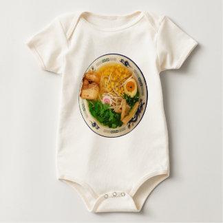 Pork Ramen Noodle Soup Baby Bodysuit