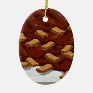 Pork Ribs Ceramic Ornament