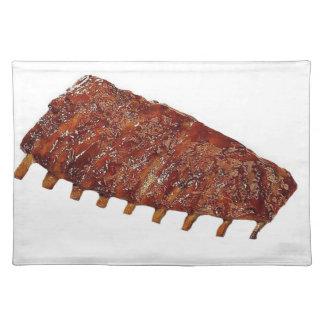 """Pork Ribs"" design placemats"