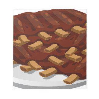 Pork Ribs Notepad