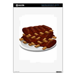 Pork Ribs Skins For iPad 3