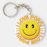Pork Smile Key Chains