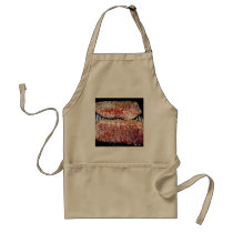 Pork Spare Ribs on the Grill Adult Apron