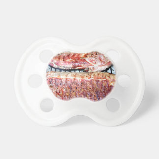 Pork Spare Ribs on the Grill Pacifier