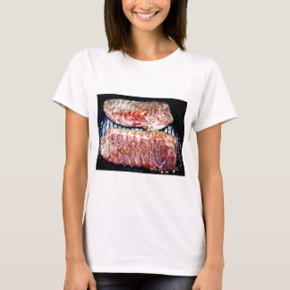 Pork Spare Ribs on the Grill T-Shirt