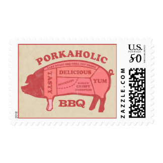 Porkaholic Postage