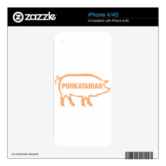 porkatarian skin for iPhone 4S