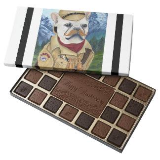 Porkchop the British Explorer 45 Piece Box Of Chocolates