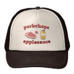porkchops & applesauce trucker hat