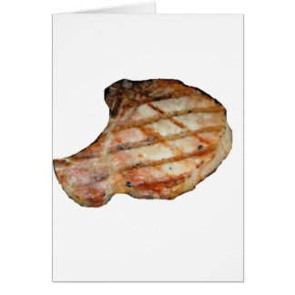Porkchops Are Delicious Card