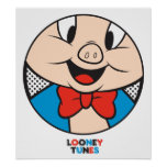 Porky Dotty Icon Poster