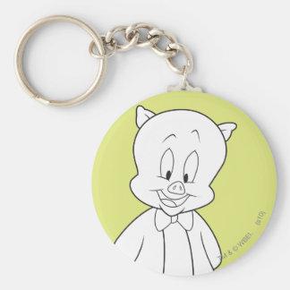 Porky Hello Friend Keychain