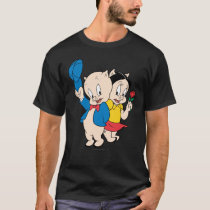 Porky Pig and Petunia T-Shirt