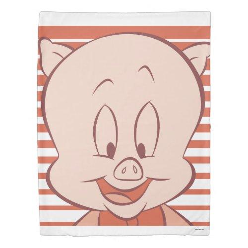 Porky Pig Expressive 23 Duvet Cover