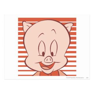 Porky Pig Expressive 23 Postcard