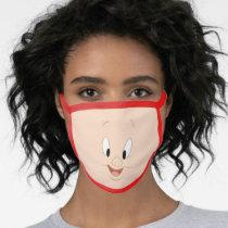 Porky Pig Smiling Face Face Mask