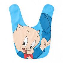Porky Pig | Waving Hat Bib