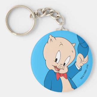 Porky Pig | Waving Hat Keychain
