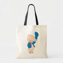 Porky Pig | Waving Hat Tote Bag