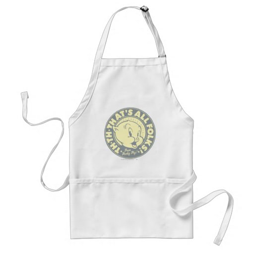 Porky TH-TH-THAT'S ALL FOLKS! Apron