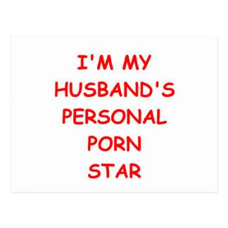 porn star postcard