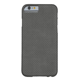 Porous Dark Metal Pattern Barely There iPhone 6 Case