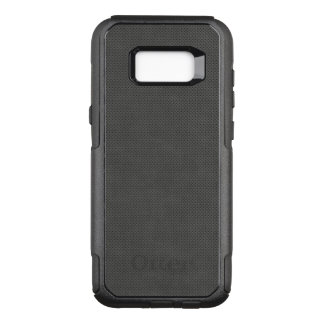 Porous Dark Metal Pattern OtterBox Commuter Samsung Galaxy S8+ Case