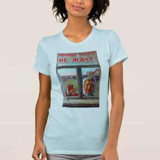 Porpaganda agrícola soviético camiseta