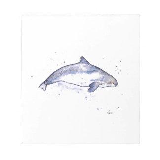 Porpoise Illustration Note Pad