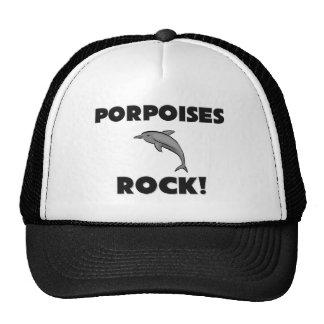 Porpoises Rock Hats