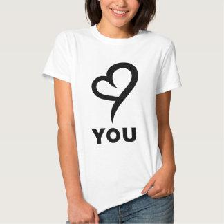 Porqué amor usted camiseta fresca y elegante camisas