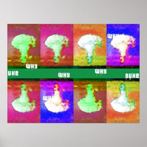 porqué arma nuclear poster
