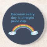 Porque cada día es recto enorgullézcase day-.png posavasos personalizados