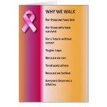 Porqué caminamos para una curación felicitaciones