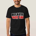 Porque coche de carreras (oscuro) poleras