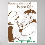 Porque el mundo no es justo… posters