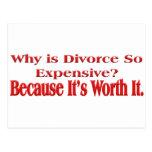 Porqué es el divorcio tan costoso postal