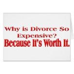 Porqué es el divorcio tan costoso tarjetas