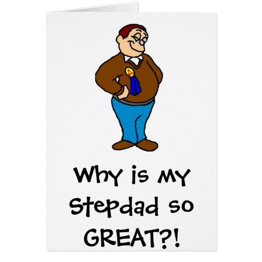 ¡Porqué es mi Stepdad tan GRANDE?! Felicitacion
