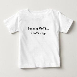 Porque gatos que es por qué t-shirts