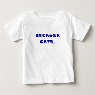 Porque gatos t-shirts