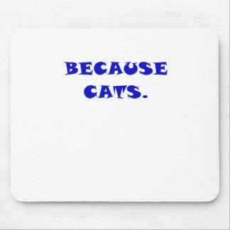Porque gatos tapetes de ratón