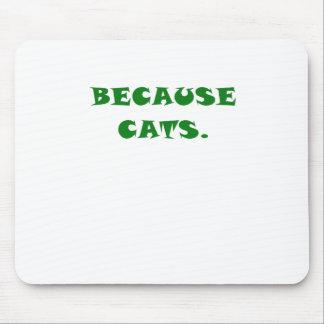 Porque gatos mousepads