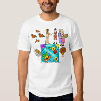 Porqué haga la gente come Turquía toda la semana Camisas