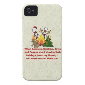 Porqué hay guerra en navidad iPhone 4 fundas